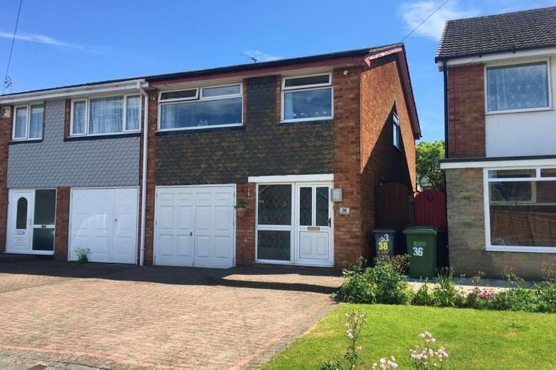 3 Bedrooms Semi Detached House for sale in Denise Drive, Kingshurst, Birmingham, B37