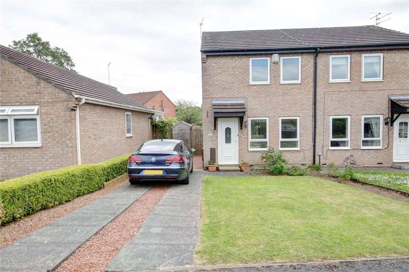 2 Bedrooms Semi Detached House for sale in Priors Grange, High Pittington, Durham, DH6