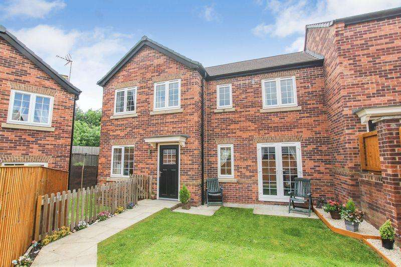 3 Bedrooms Semi Detached House for sale in Spinners Close, South Normanton