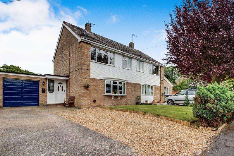 3 Bedrooms Semi Detached House for sale in Springfield Road, Alconbury Western