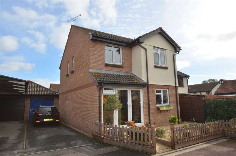 4 Bedrooms Detached House for sale in Chapple Close, Starcross