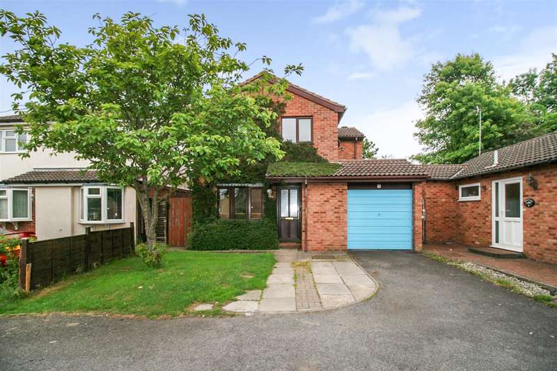 4 Bedrooms Detached House for sale in Beacon Close, Leicester