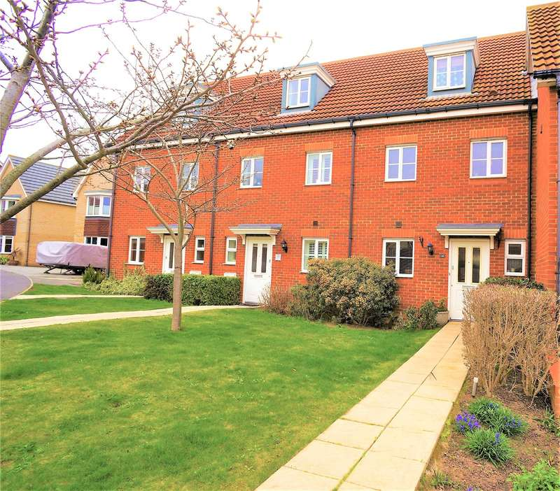 4 Bedrooms End Of Terrace House for sale in Headstock Rise, Hoo, Rochester, Kent, ME3