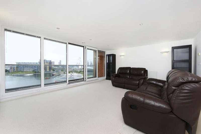 2 Bedrooms Flat for sale in Western Gateway, London E16