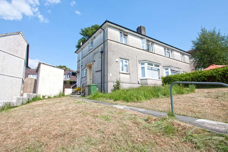1 Bedroom Maisonette Flat for sale in Ernesettle, Plymouth