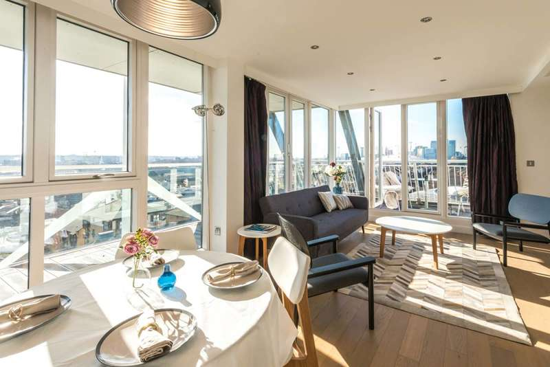 2 Bedrooms Flat for sale in Eastern Quay Apartments, Silvertown, E16