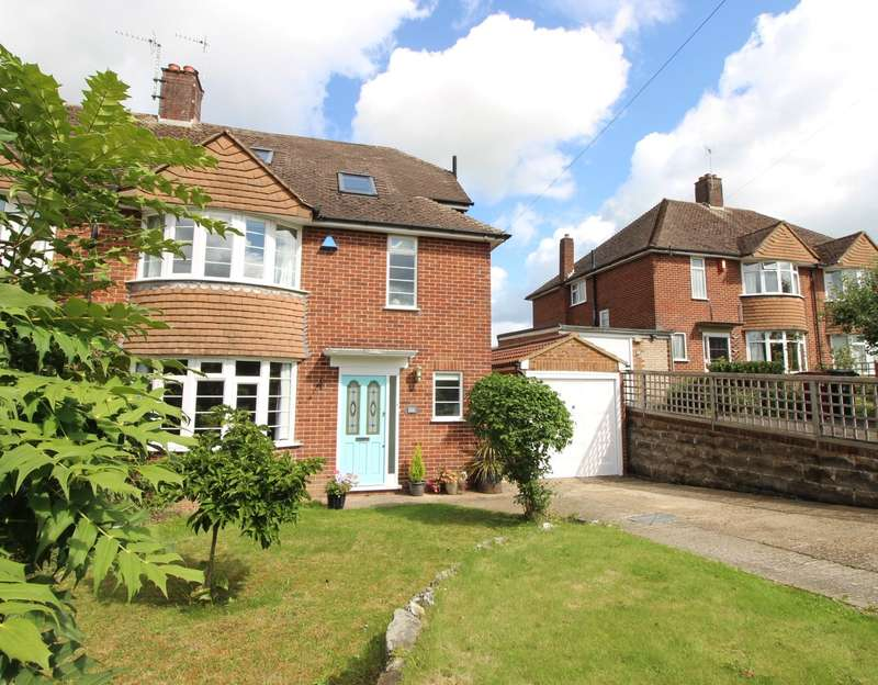 4 Bedrooms Semi Detached House for sale in Crawshay Drive, Emmer Green, Reading, RG4