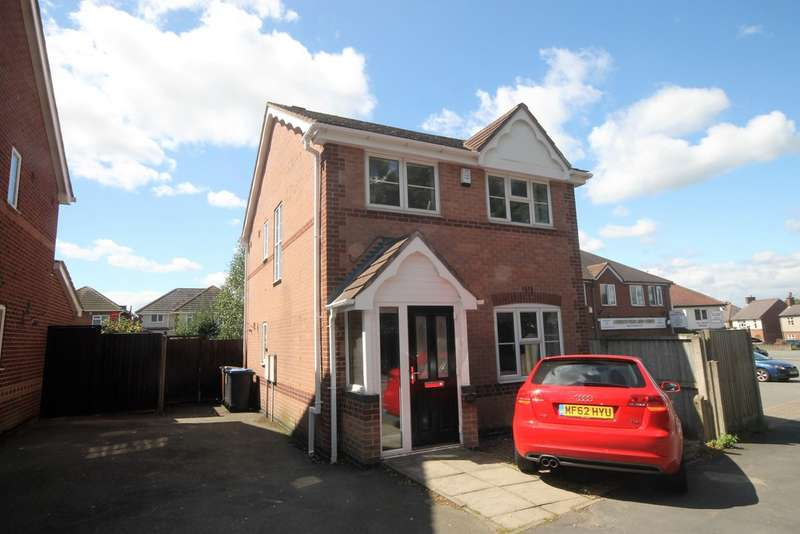 3 Bedrooms Detached House for sale in Northfield Road , Hinckley LE10