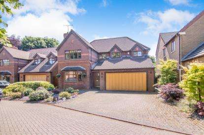 4 Bedrooms Detached House for sale in Chilton Close, Maghull, Liverpool, Merseyside, L31
