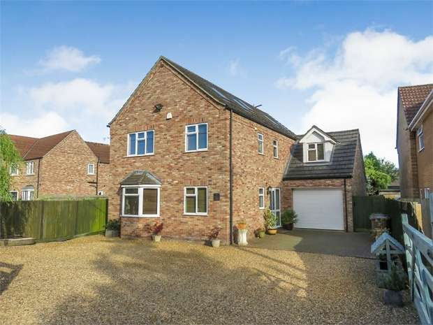 5 Bedrooms Detached House for sale in Back Road, Murrow, Wisbech, Cambridgeshire