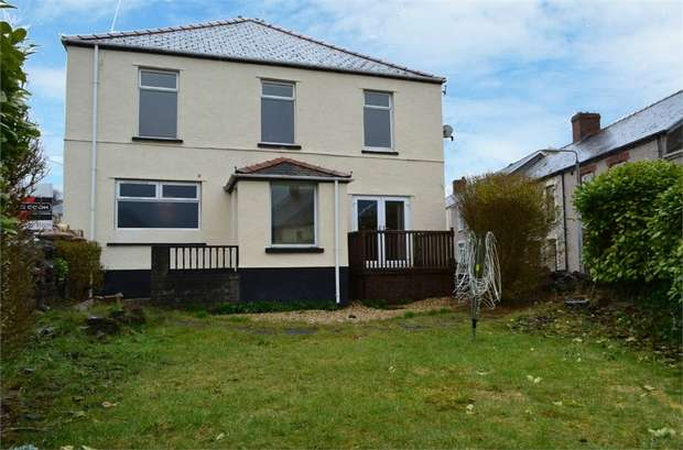 4 Bedrooms Detached House for sale in Beaufort Rise, Beaufort, Ebbw Vale, Blaenau Gwent