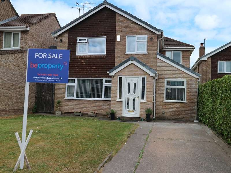 4 Bedrooms Detached House for sale in Veryan Close, Liverpool, Merseyside. L26 7YJ