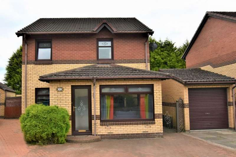 3 Bedrooms Detached House for sale in Cameronian Place, Bellshill, ML4