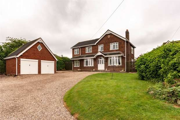 4 Bedrooms Detached House for sale in Hood Lane, Armitage, Rugeley, Staffordshire