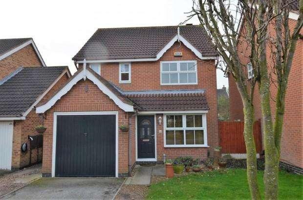 3 Bedrooms Detached House for sale in Copse Grove, Heatherton Village, Derby, DE23