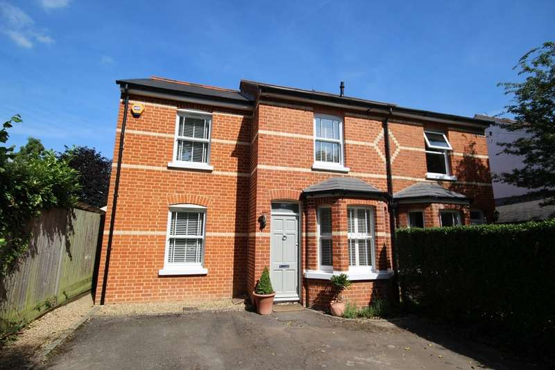 3 Bedrooms Semi Detached House for sale in Ivy Cottage, Hinton Road, Hurst, RG10