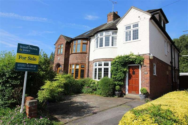 4 Bedrooms Semi Detached House for sale in Gisborne Crescent, Allestree, Derby