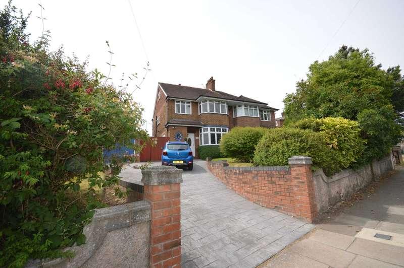 4 Bedrooms Semi Detached House for sale in Higher Bebington Road, Bebington