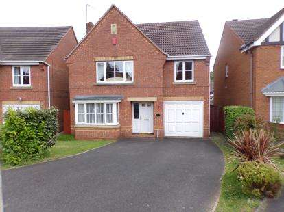 4 Bedrooms Detached House for sale in The Limes, Walsall, West Midlands