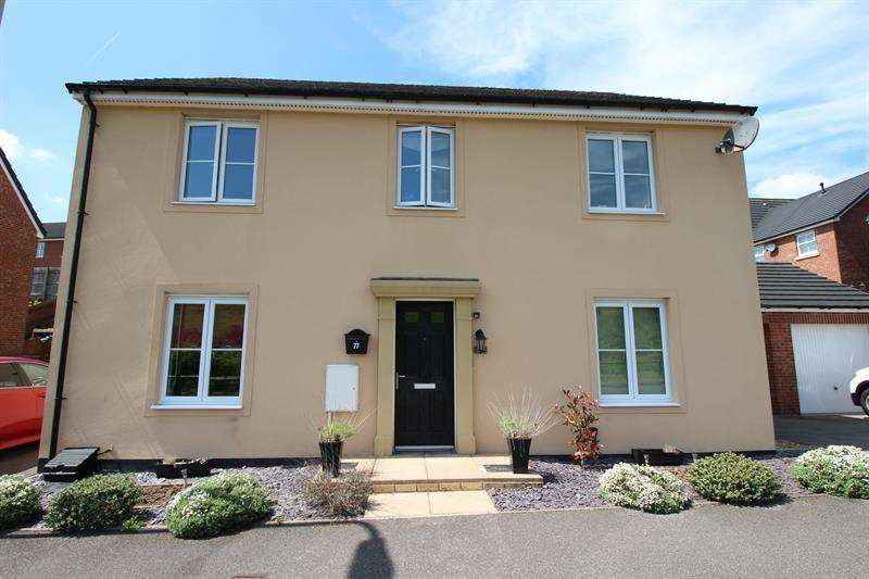 4 Bedrooms Detached House for sale in Griffin Drive, Penallta, Hengoed