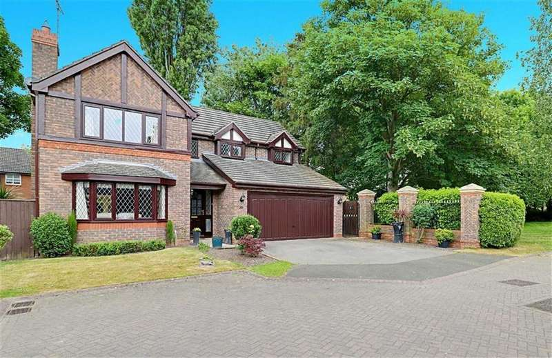 4 Bedrooms Detached House for sale in Lewis Close, Nantwich