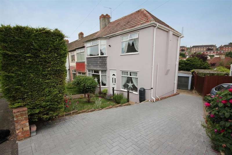 2 Bedrooms End Of Terrace House for sale in Carden Crescent, Patcham, Brighton
