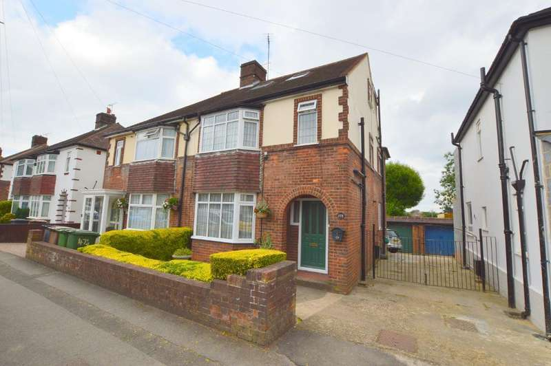 5 Bedrooms Semi Detached House for sale in Hitchin Road, Stopsley, Luton, LU2 7ST