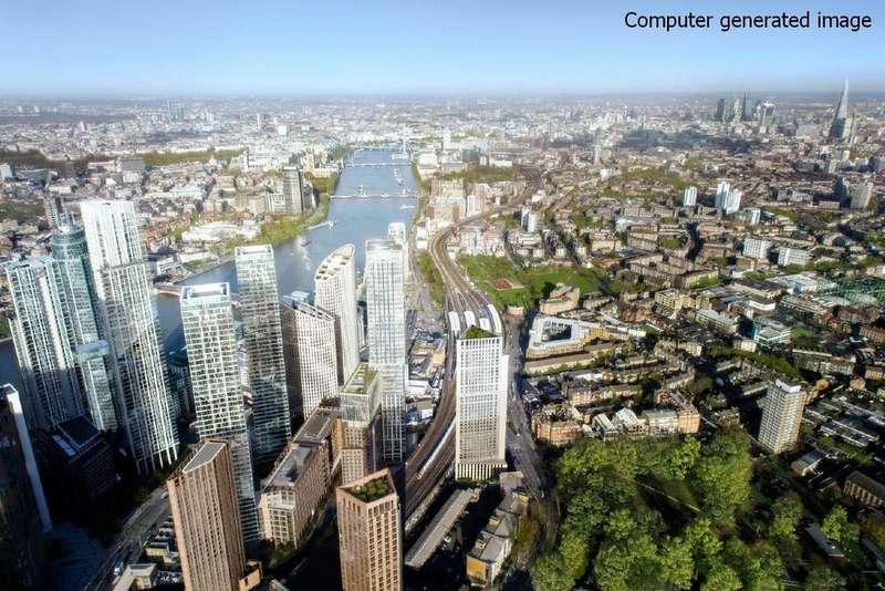 3 Bedrooms Flat for sale in Aykon London One, Bondway, Nine Elms