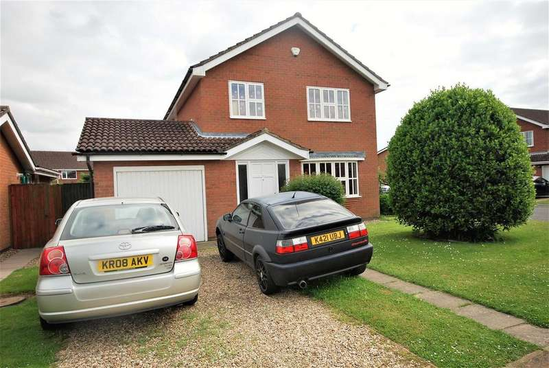 3 Bedrooms Detached House for sale in Dovecotes, Quadring, Spalding