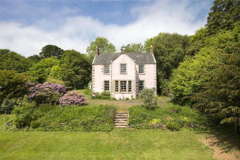5 Bedrooms Detached House for sale in Craigie Lodge, Longformacus, Duns, Berwickshire, TD11