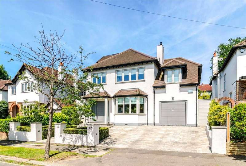 5 Bedrooms Detached House for sale in Hunter Road, Wimbledon, London, SW20