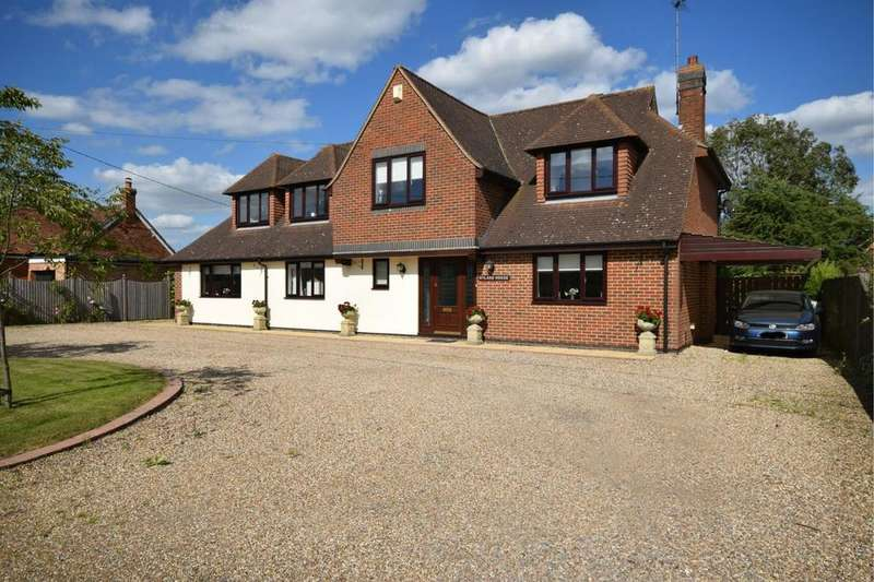 5 Bedrooms Detached House for sale in Clapton Hall Lane, Dunmow, Essex, CM6