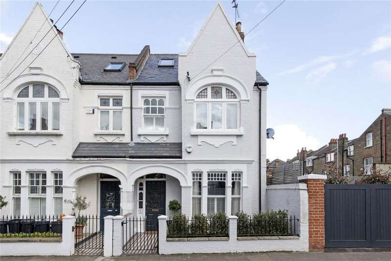 5 Bedrooms End Of Terrace House for sale in Osward Road, London, SW17