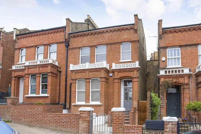 5 Bedrooms Semi Detached House for sale in Womersley Road, Crouch End, London, N8