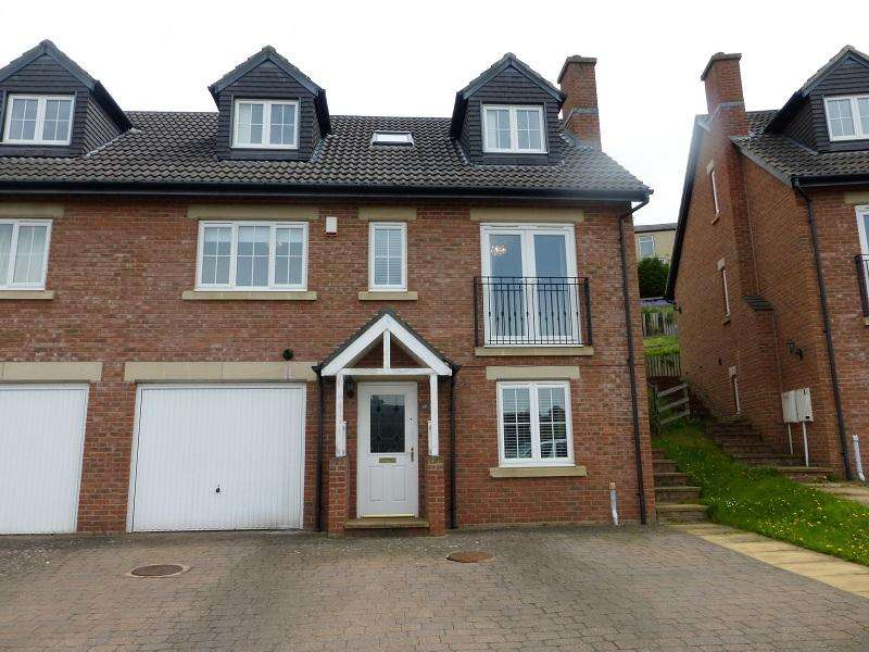 4 Bedrooms Semi Detached House for sale in Priory Close, Shotley Bridge, Consett DH8