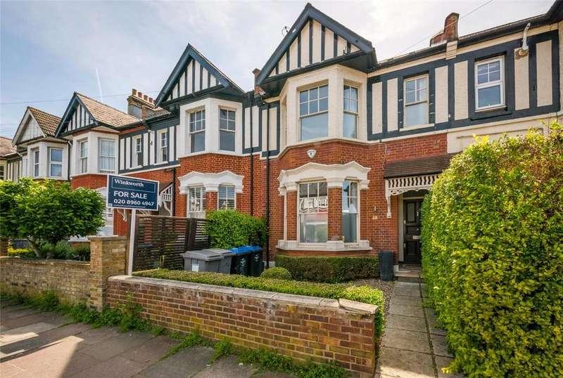5 Bedrooms Terraced House for sale in Okehampton Road, London, NW10