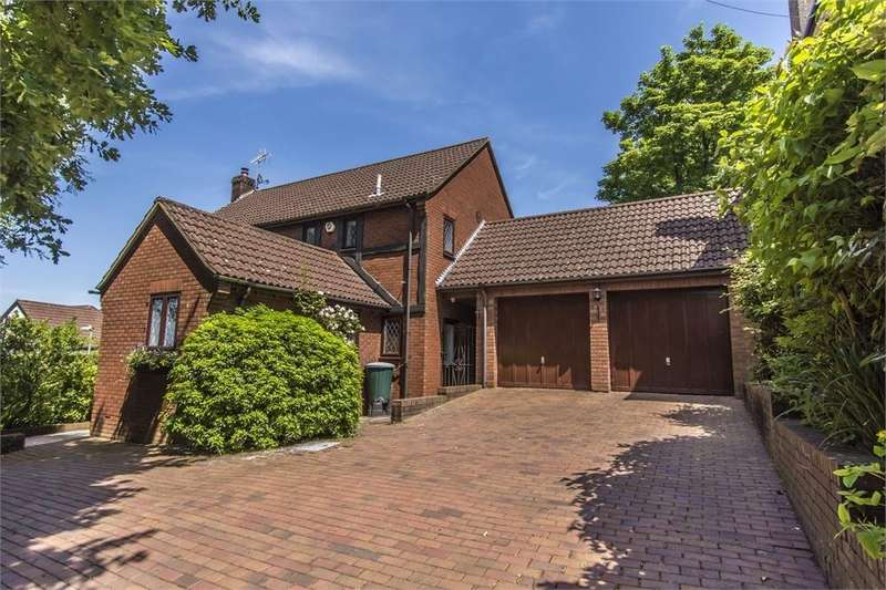 4 Bedrooms Detached House for sale in Beechwood Rise, West End, SOUTHAMPTON, Hampshire
