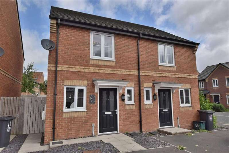 2 Bedrooms Semi Detached House for sale in Rosebud Way, Catterick Garrison, North Yorkshire