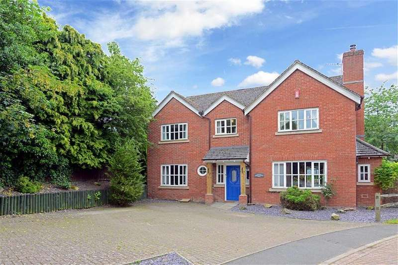 4 Bedrooms Detached House for sale in Mountwood Park, Off The Mount, Shrewsbury, Shropshire