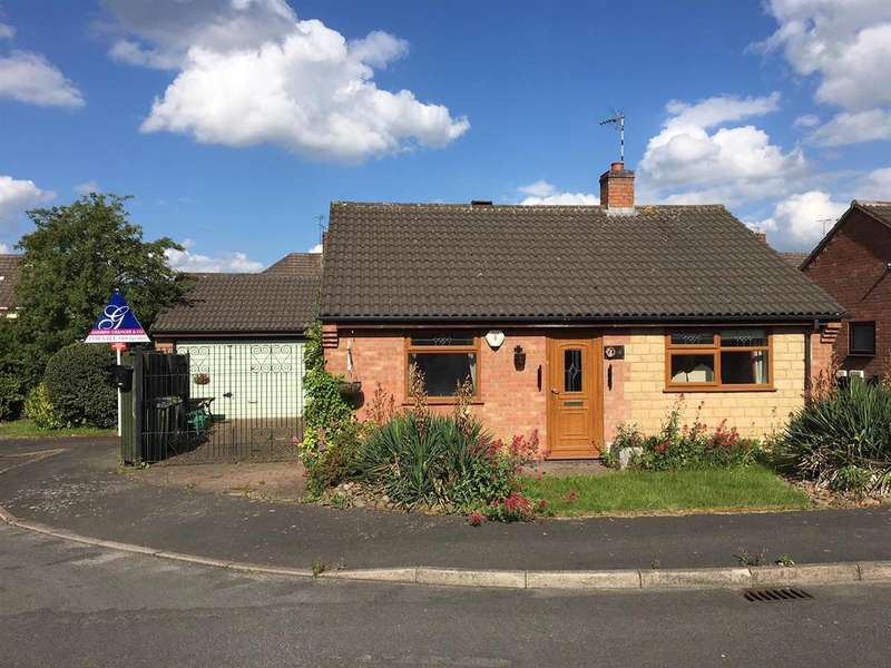 2 Bedrooms Detached Bungalow for sale in Holliers Way, Croft, Leicestershire