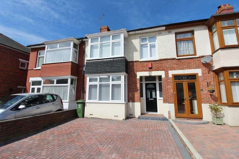 3 Bedrooms Terraced House for sale in Randolph Road, Hilsea