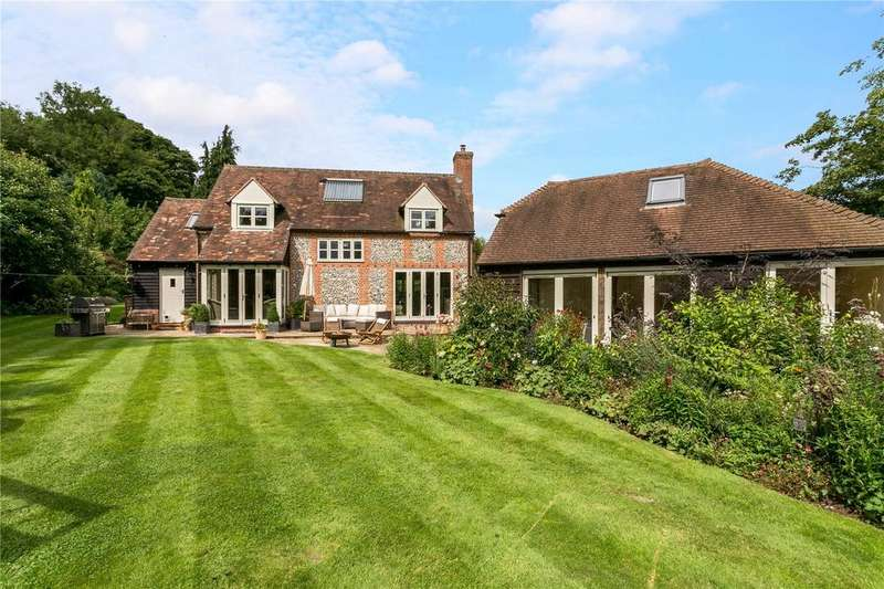 4 Bedrooms Detached House for sale in Routs Green, Bledlow Ridge, High Wycombe, Buckinghamshire, HP14