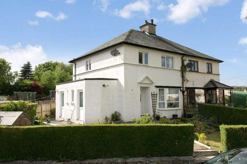 3 Bedrooms Semi Detached House for sale in 51 Oldfield Road, Windermere, Cumbria, LA23 2AZ