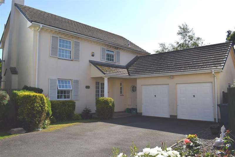 5 Bedrooms Detached House for sale in Lower Cross Road, Bickington, Barnstaple