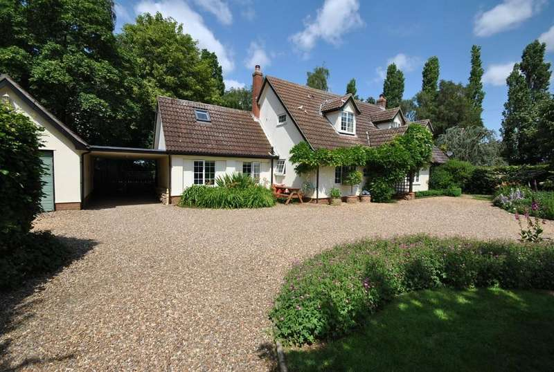 5 Bedrooms Detached House for sale in Mellis Road, Thrandeston, Suffolk