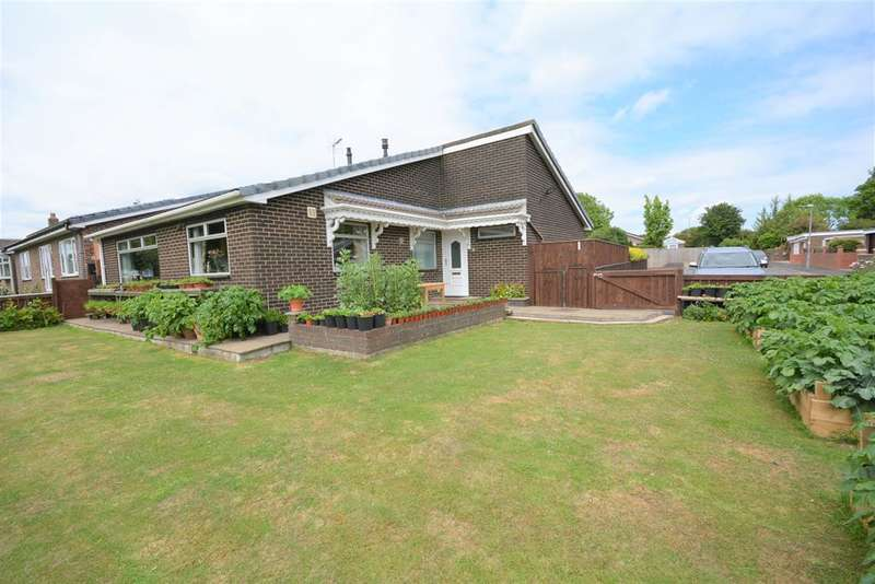3 Bedrooms Bungalow for sale in Baysdale Gardens, Shildon , DL4 2LX