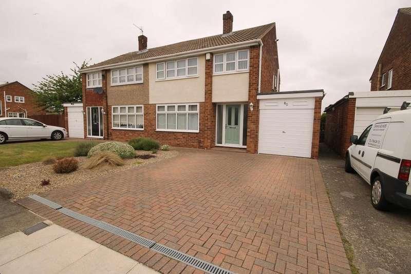 3 Bedrooms Semi Detached House for sale in Kesteven Road, Fens, Hartlepool