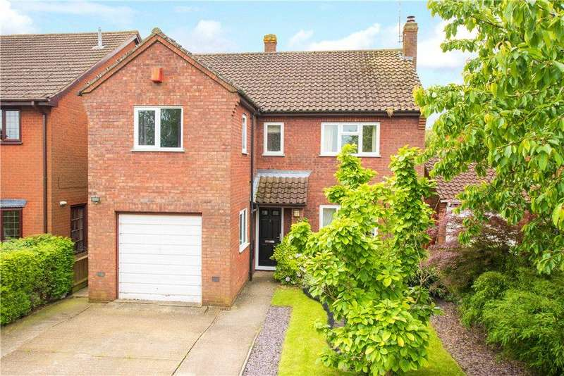 4 Bedrooms Detached House for sale in Woodman Close, Wing, Leighton Buzzard, Buckinghamshire