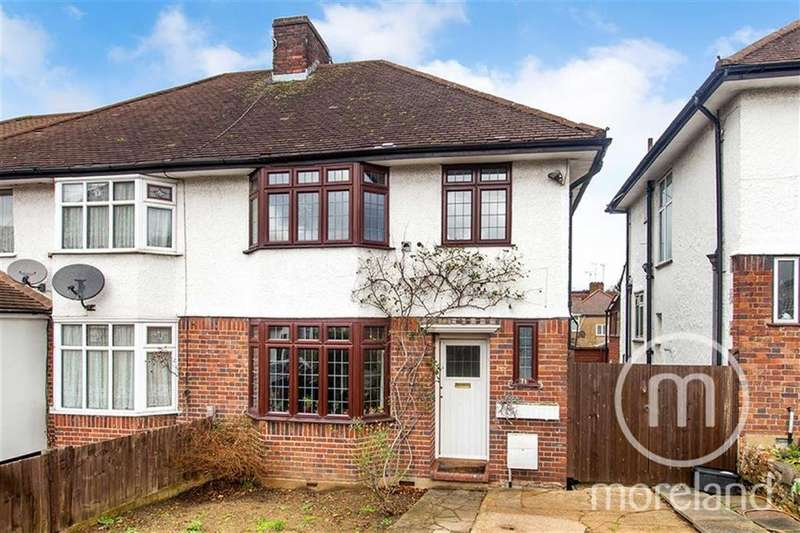 3 Bedrooms Semi Detached House for sale in Selborne Gardens, Hendon, NW4