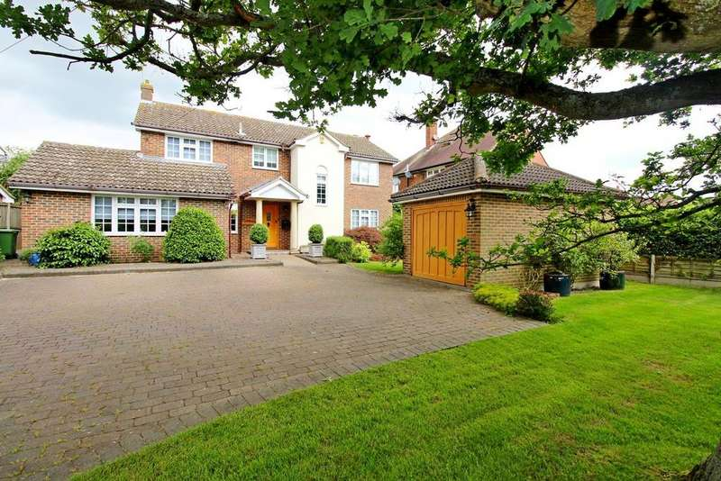 4 Bedrooms Detached House for sale in Church Road, Wickham Bishops, Witham, Essex, CM8